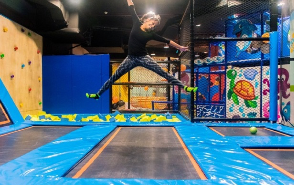 What to do when going in trampoline parties?